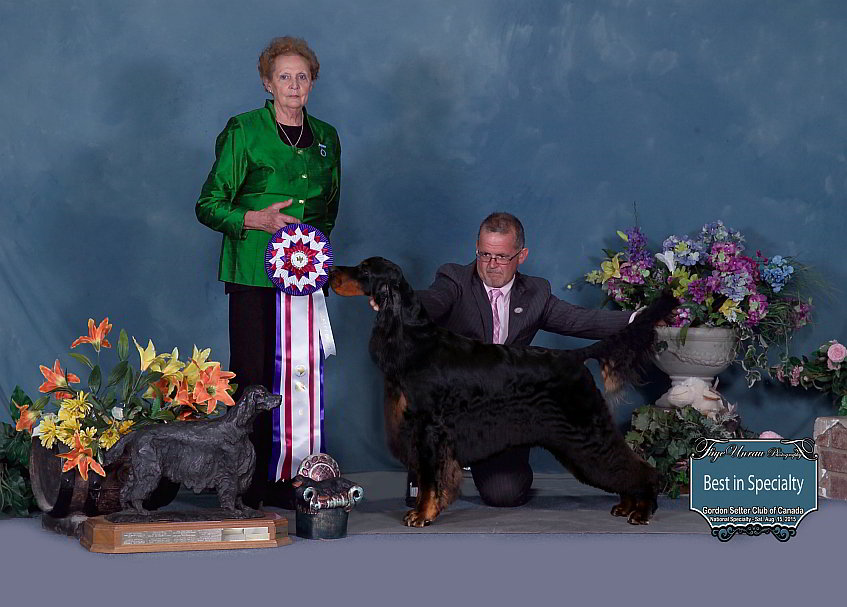 "Best Of Breed: Ch Bran Linn Braxfield Xpert Advice – ""Sally"""